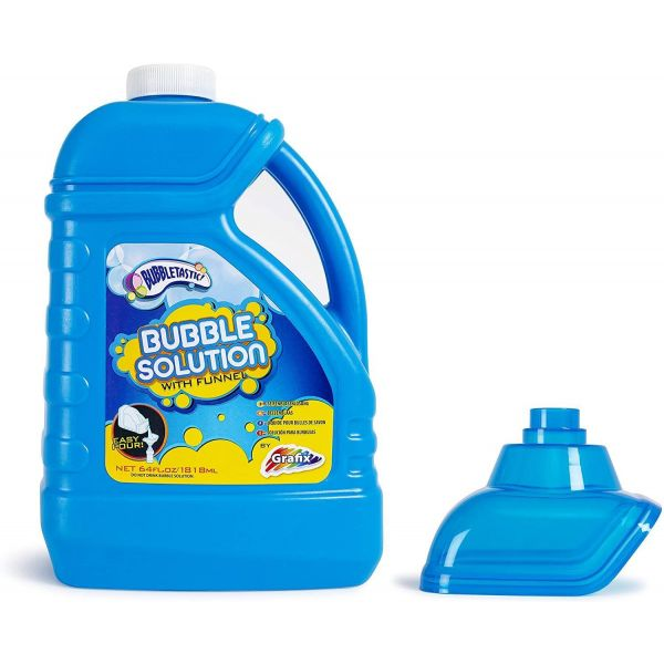 Grafix Bubbletastic 1.8L Bubble Solution Bottle With Funnel