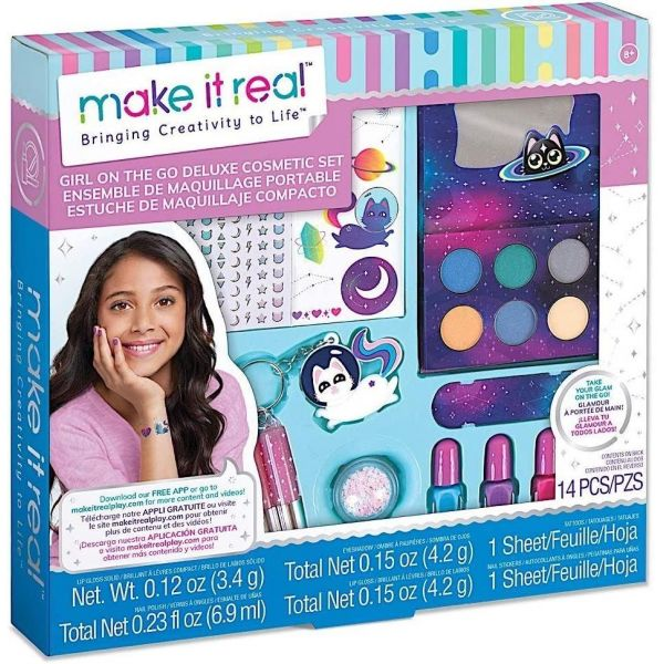 Make It Real Girl on the Go Cosmic Makeup Set