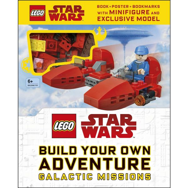 Lego Star Wars: Build Your Own Adventure Book Set