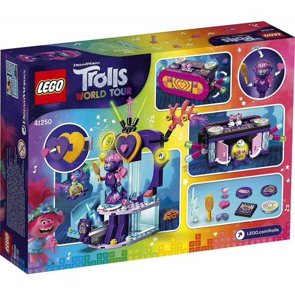 Lego Trolls World Tour Techno Reef Dance Party 41250