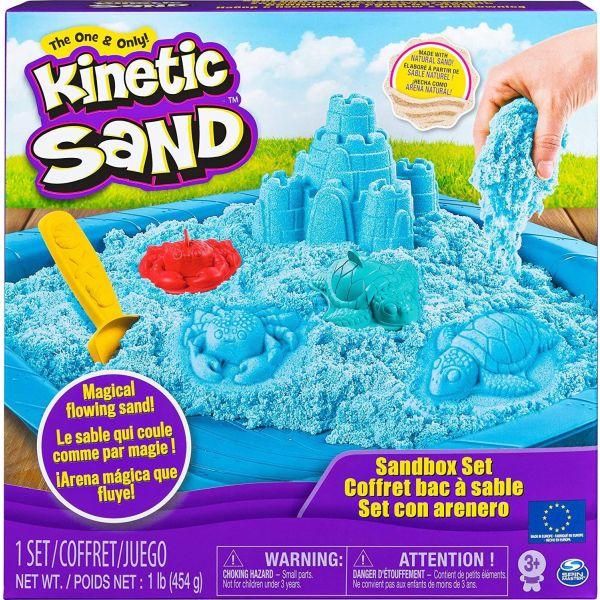 Kinetic Sand Blue Sandcastle Set