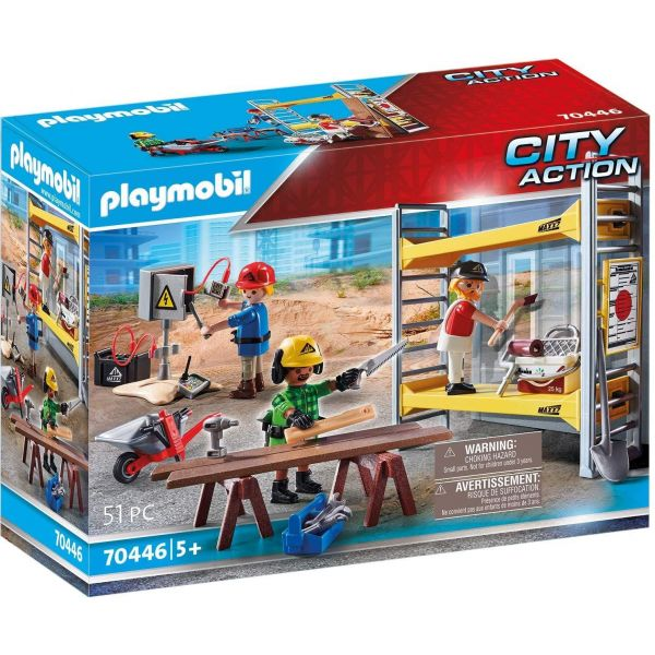 Playmobil City Action Construction Scaffold70446