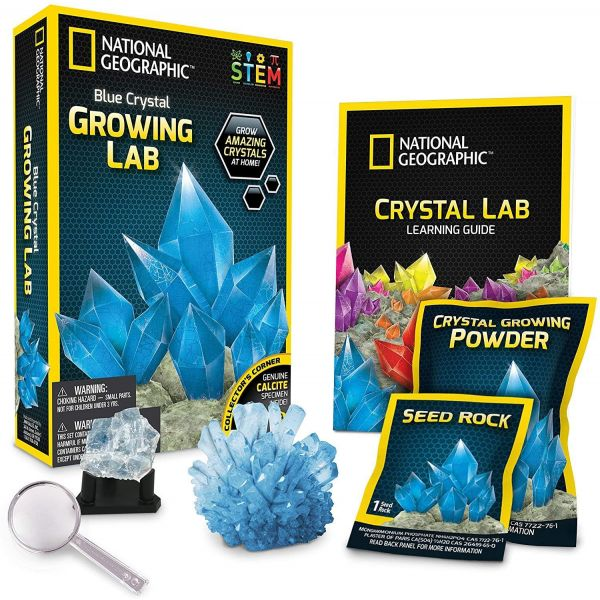 National Geographic Blue Crystal Growing Kit