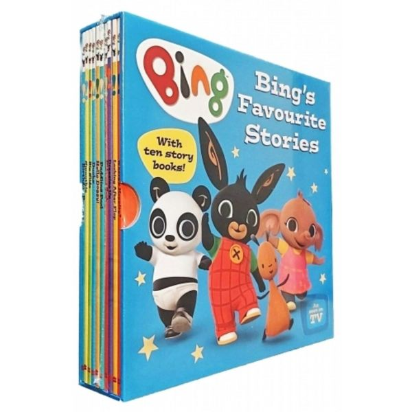Bing's Favourite Stories 10 Book Collection