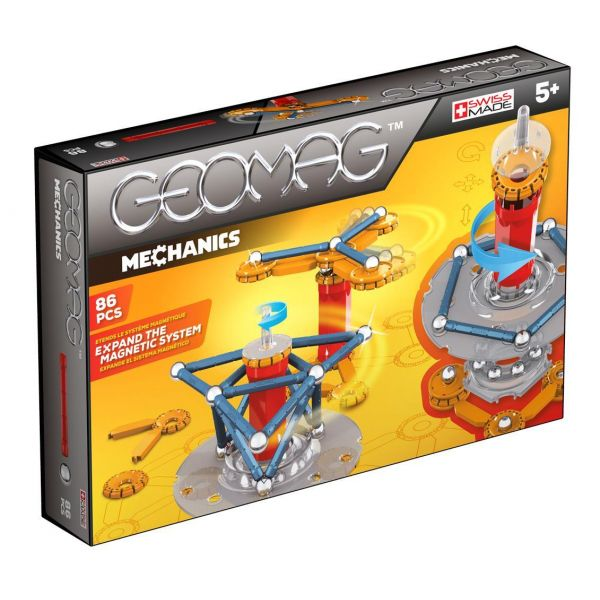 Geomag Mechanics 86 Piece Set