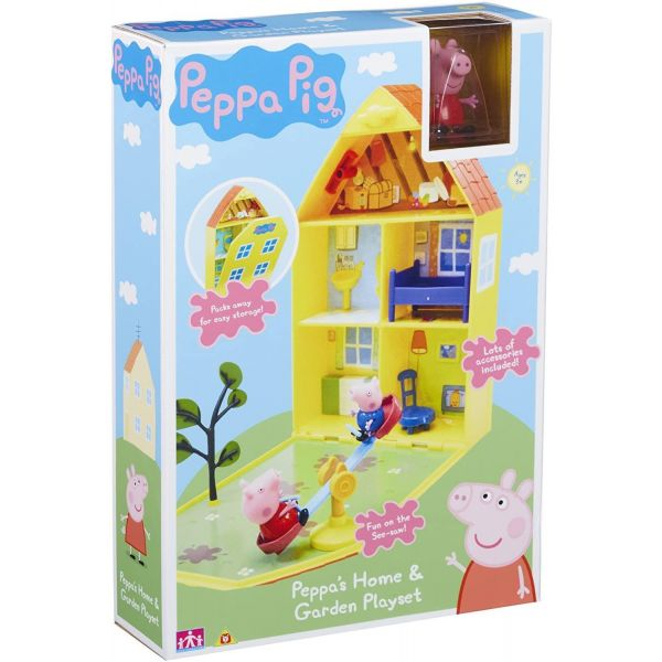 Peppa Pig Peppa's Home and Garden Playset