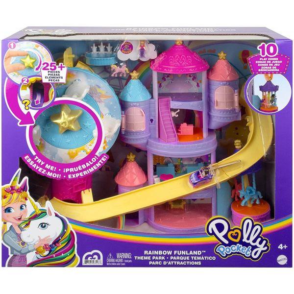Polly Pocket Fantasy Funland Theme Park Playset