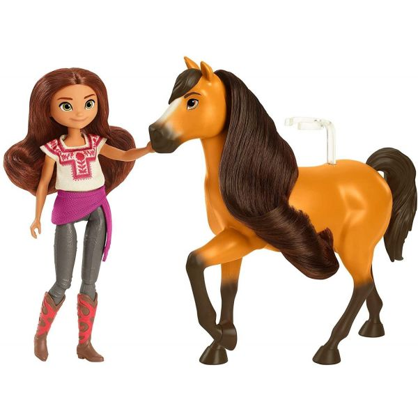 Spirit Untamed Lucky Doll and Spirit Horse