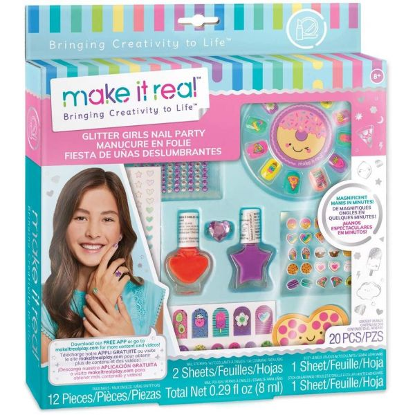 Make It Real Glitter Girls Nail Party