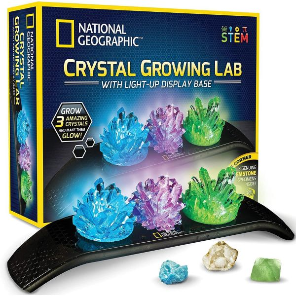 National Geographic Light Up Crystal Growing Lab
