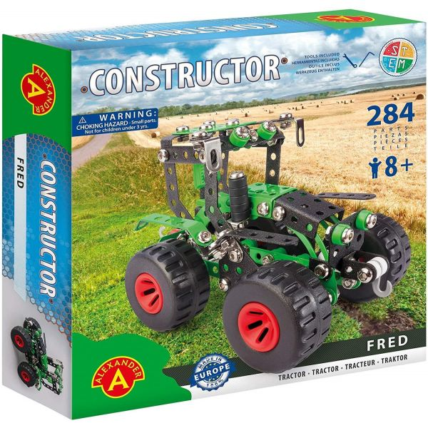 Constructor Fred Tractor Construction Set