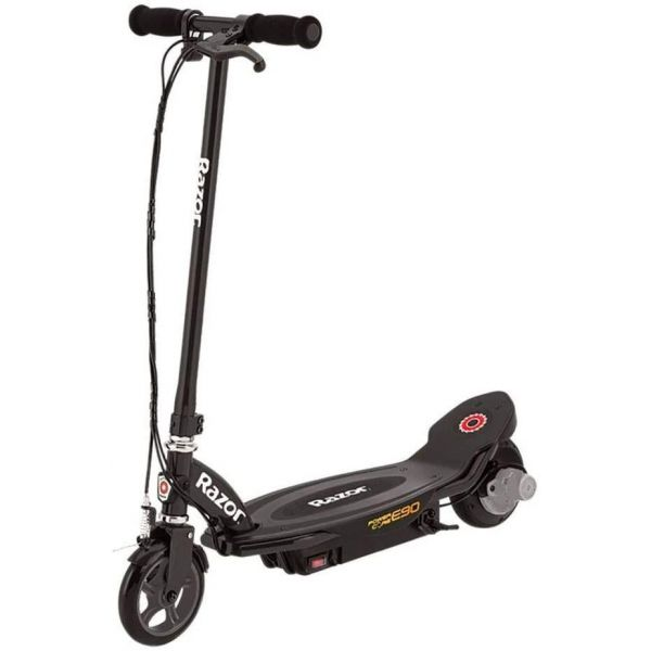 Razor E90 Black Electric Scooter Power Core