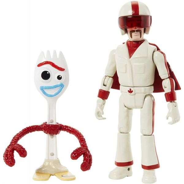 """Toy Story 4 7"""" Forky and Duke Caboom"""