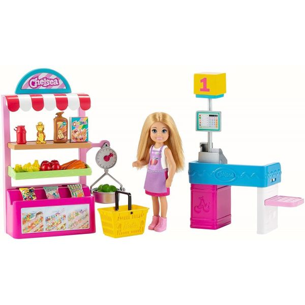 Barbie Chelsea Supermarket Playset