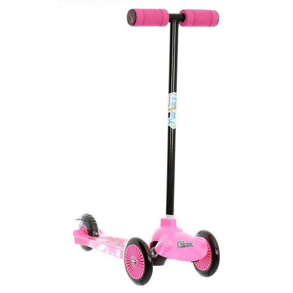 Ozbozz Trail Twist Scooter Pink and Black