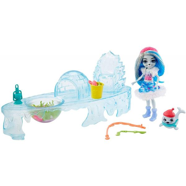 Enchantimals Fishing Friends With Sashay Seal & Blubber Dolls