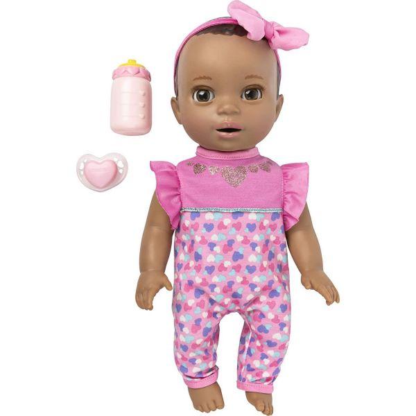 Luvabella Newborn Dark Brown Hair Doll