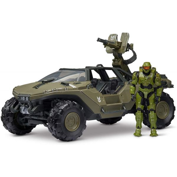 Halo Warthog and Master Chief Set