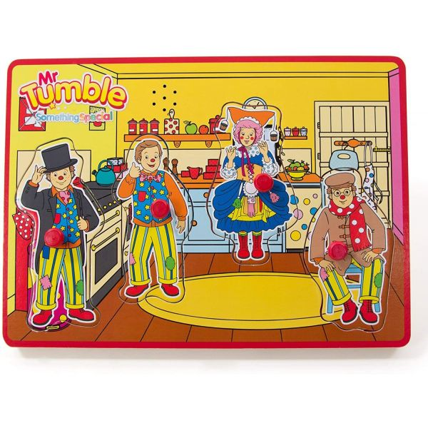 Mr Tumble Wooden Sound Puzzle