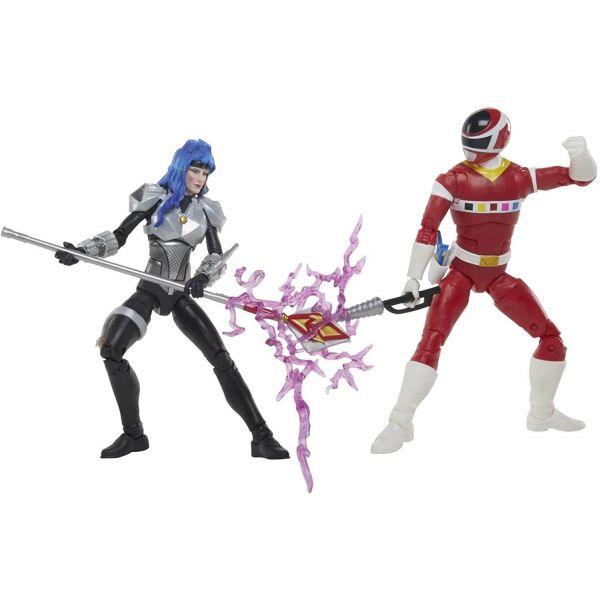 "Power Rangers Lightning Collection Red Ranger Vs Astronema 6"" Figures"