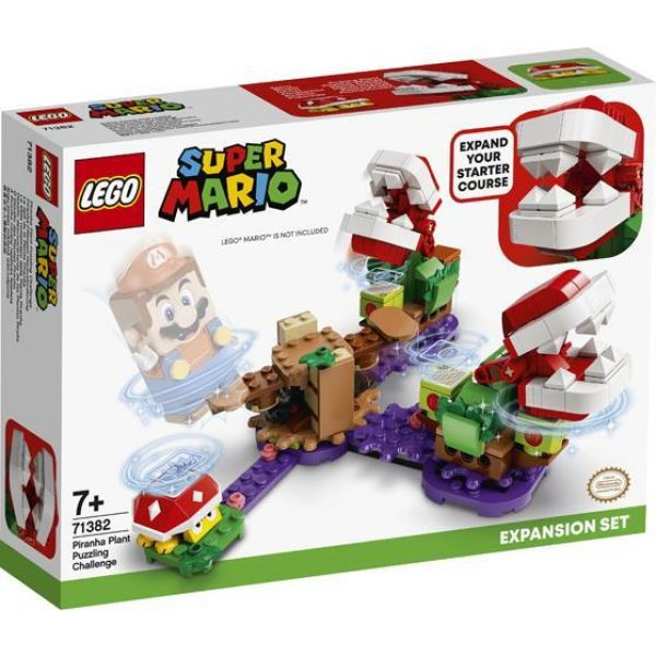 Lego Super Mario Piranha Plant Puzzling Challenge Expansion Set