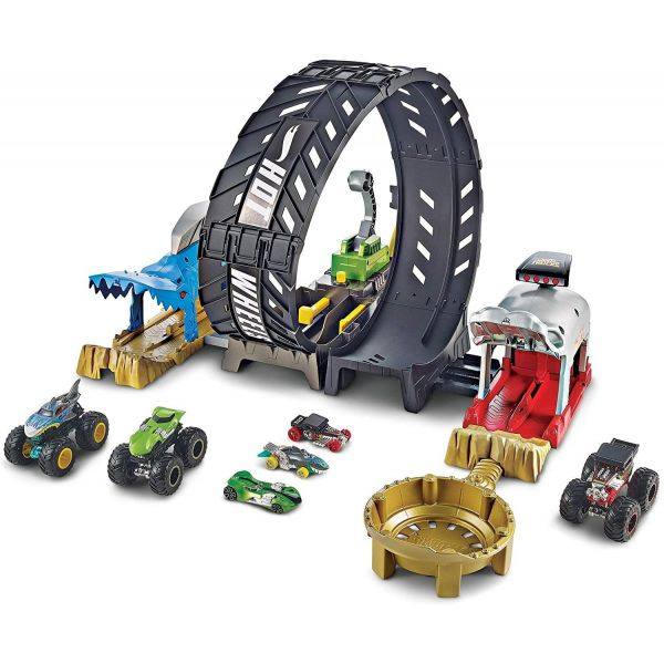 Hot Wheels Monster Truck Epic Loop Challenge