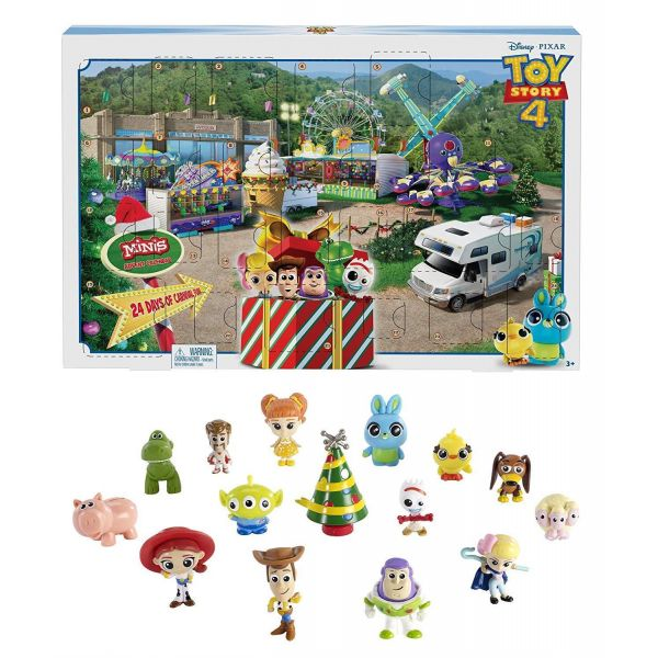 Toy Story 4 Minis Advent Calendar