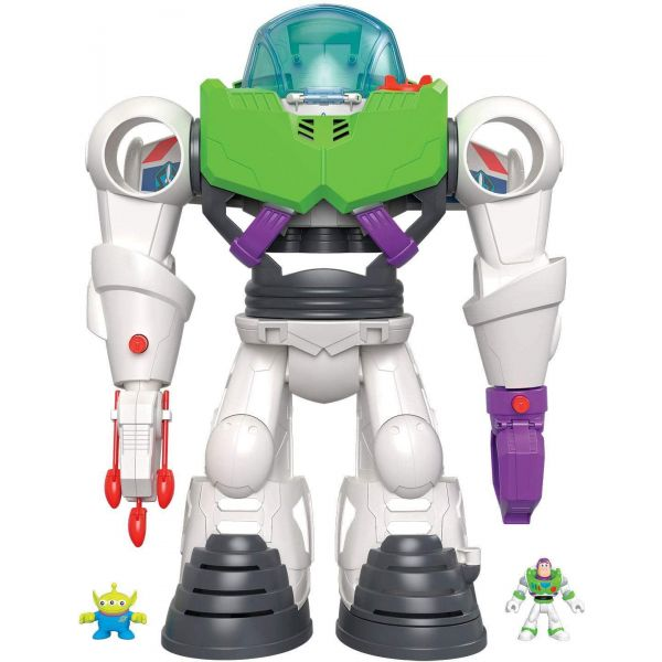 Toy Story 4 Imaginext Buzz Lightyear Robot Playset
