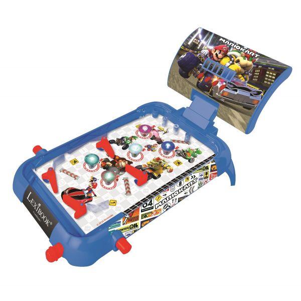 Mario Kart Electronic Pinball with Lights and Sounds