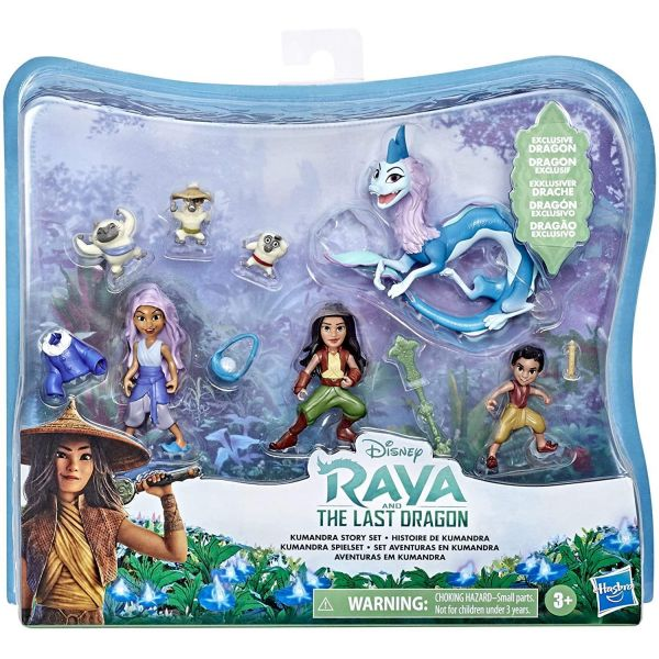 Disney Princess Raya Kumandra Story Set