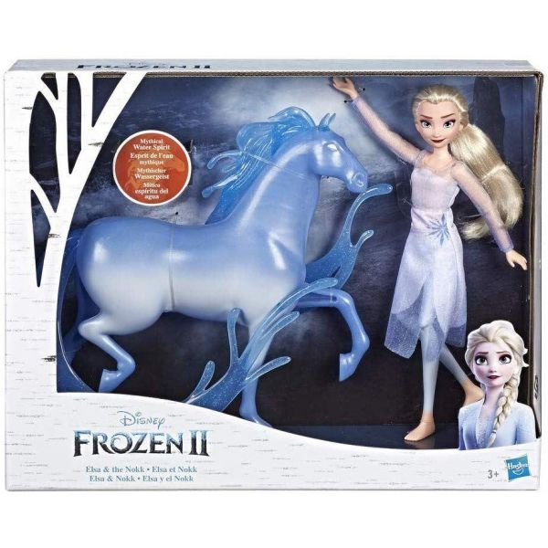 Disney Frozen 2 Elsa & Nokk Fashion Doll