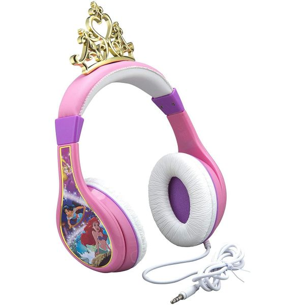 Disney Princess Moulded Youth Headphones