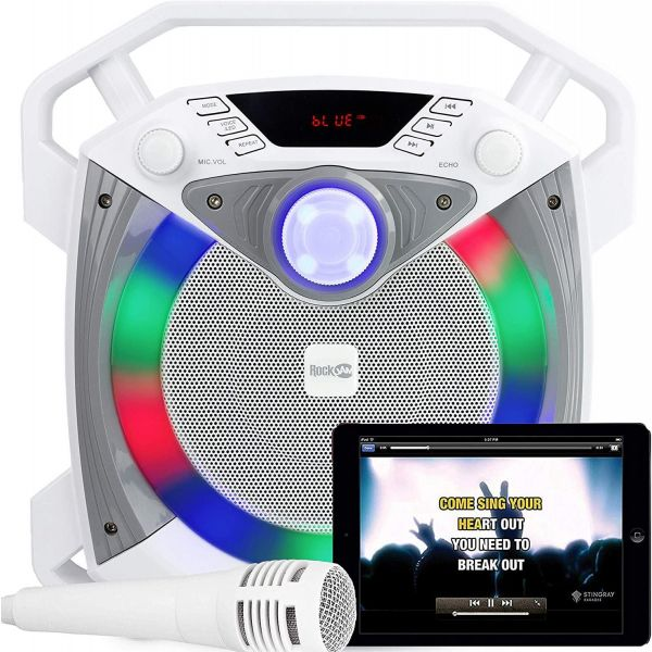 RockJam Portable Bluetooth Karaoke Machine