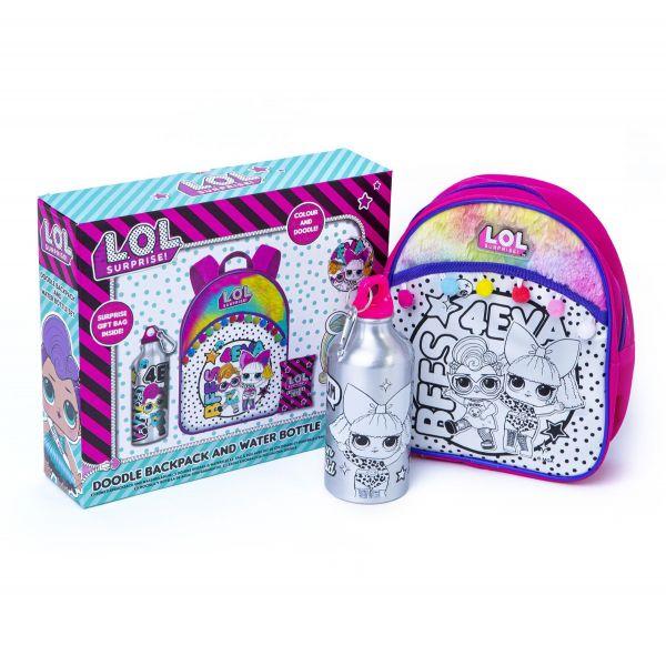 L.O.L. Surprise! Backpack & Water Bottle