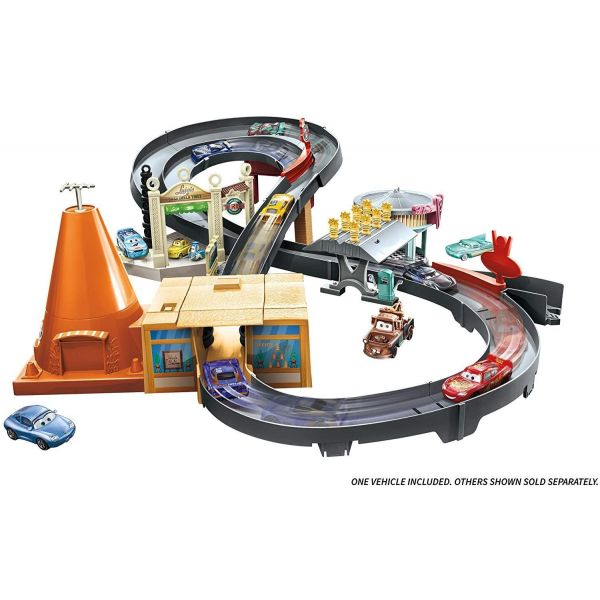 Disney Cars Race Around Radiator Springs Playset