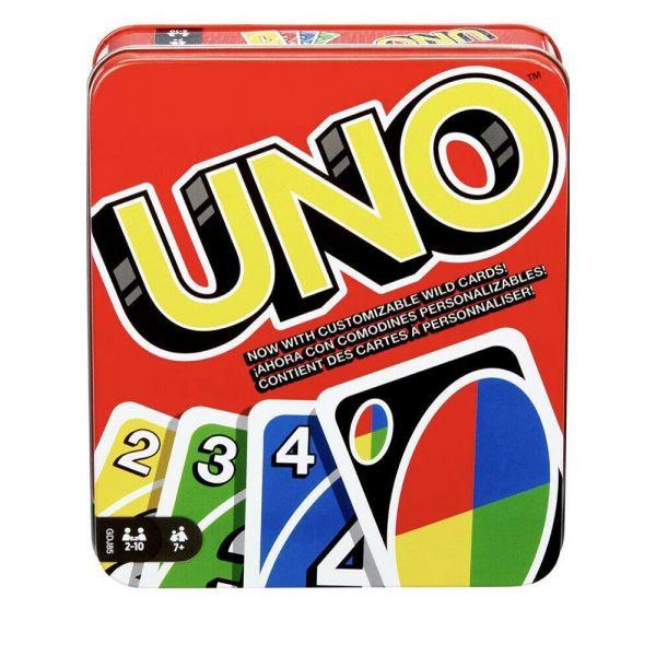 UNO Tin Card Game