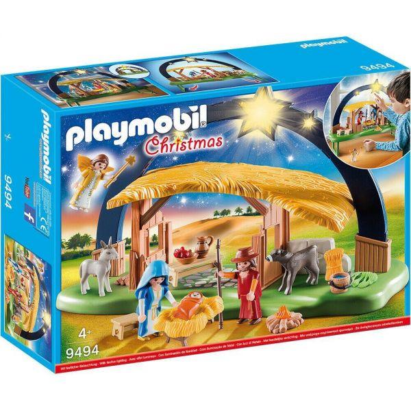 Playmobil Christmas Illuminating Nativity Manger