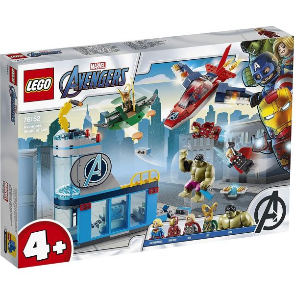 Lego DC Super Heroes Avengers Wrath of Loki 76152