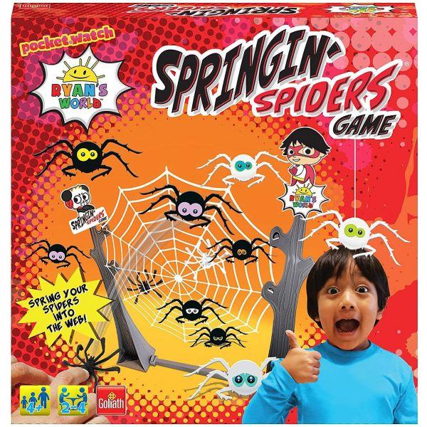 Ryans World Springing Spiders Game