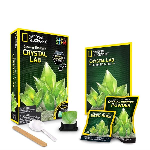 National Geographic Crystal Grow Green