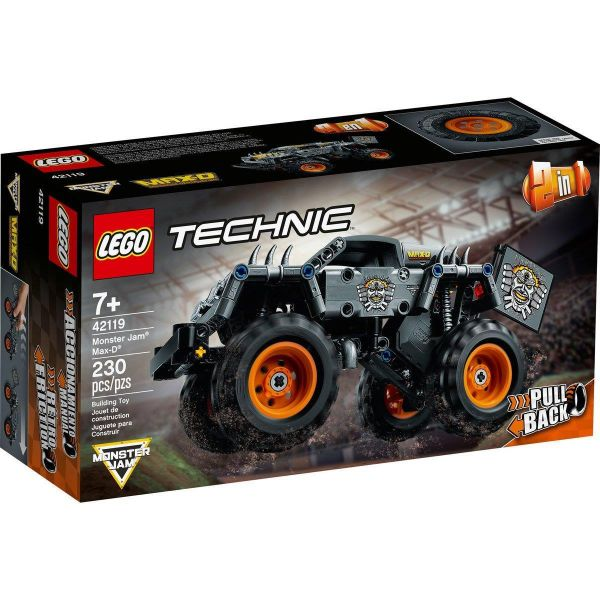 Lego 42119 Technic Monster Jam Max-D