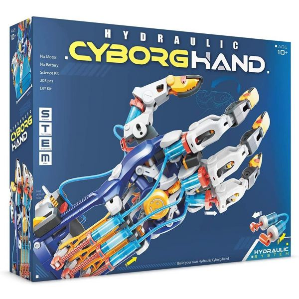 Construct and Create Hydraulic Cyborg Hand Kit