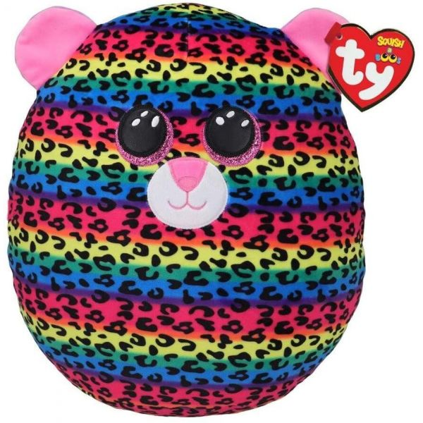 """TY Squish-A-Boo 12"""" Dotty the Leopard"""
