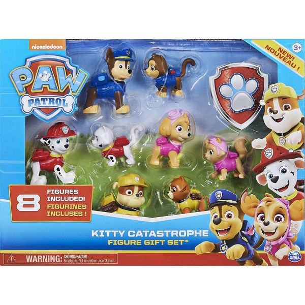 Paw Patrol Kitty Catastrophe Figure Gift Pack