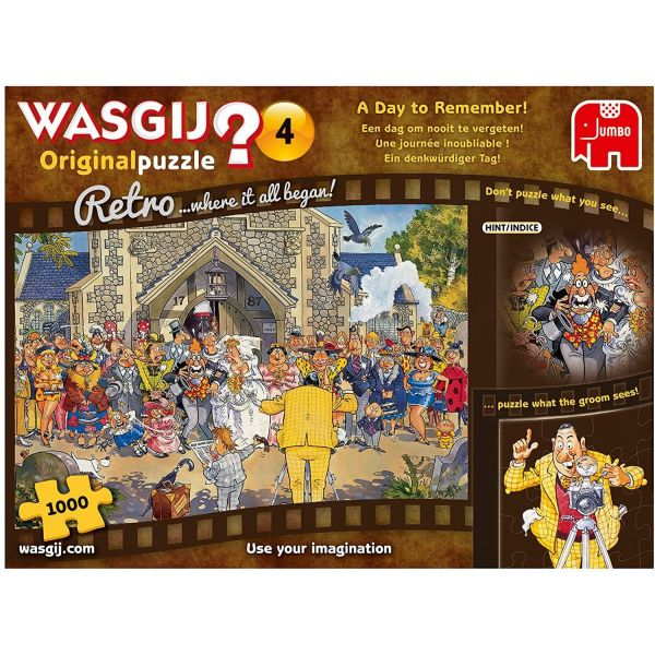 Wasgij Retro Original 4 A day to Remember! 1000 Piece Puzzle