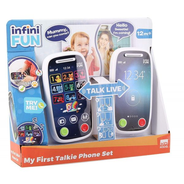 Infini Fun My First Due Talkie Phone Set