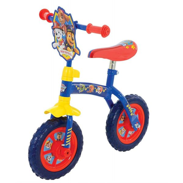 "Paw Patrol 2-in-1 10"" Training Bike"