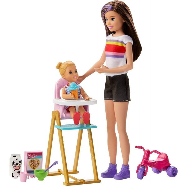 Barbie Babysitter Feeding Time