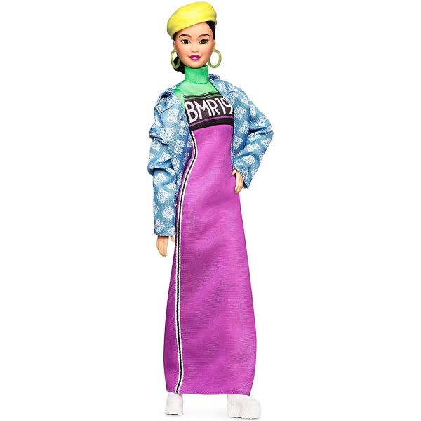 Barbie Doll Asian Doll Purple Dress Jacket