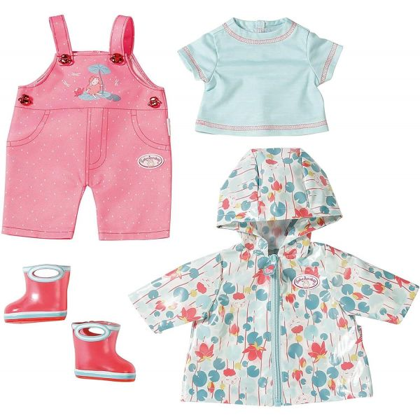 Baby Annabell Deluxe 43cm Doll Rain Outfit